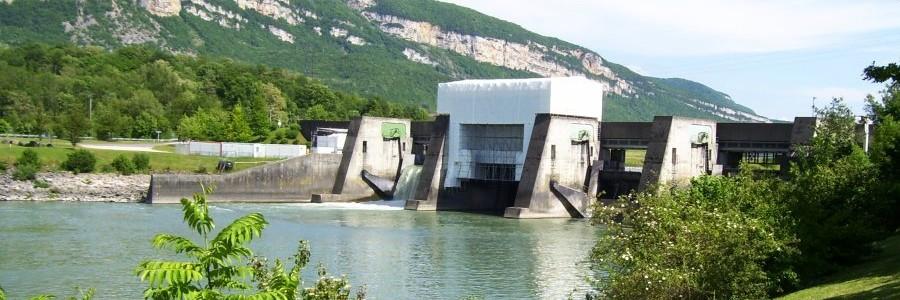 Vanne de barrage Vaugris