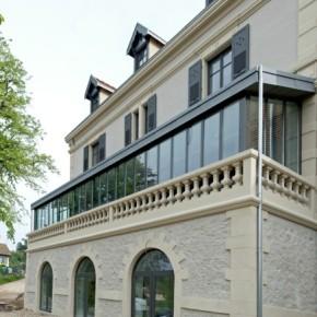 Façade Maison Berthod - VINAY Battaglino - entreprise de peinture - façade ravalement