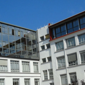 ALSTOM GRENOBLE Battaglino - entreprise de peinture - façade ravalement