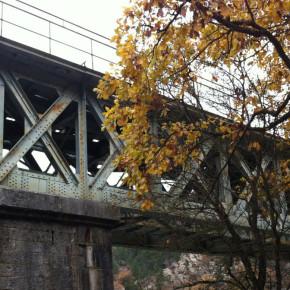 Viaduc de Vercheny - rouille - corrodé