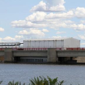 Vanne de barrage - anticorrosion - peinture industrielle