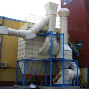 Caisson de désenfumage - anticorrosion - antirouille - peinture industrielle