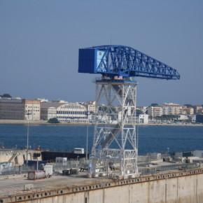 Installation portuaire - anticorrosion - antirouille - peinture industrielle
